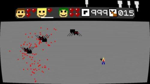 Super Amazing Wagon Adventure killing spiders screenshot