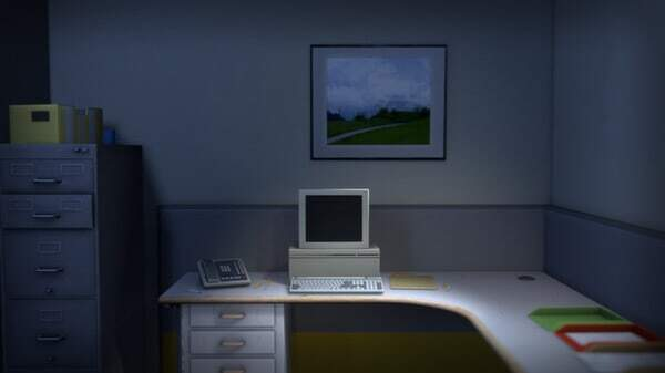 The Stanley Parable - corner office screenshot