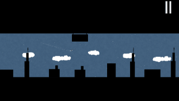 Dream Flight game screenshot-city