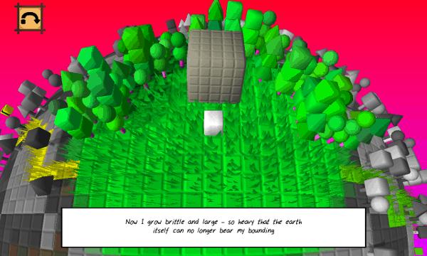 Cube & Star screenshot - beginning