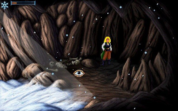 indie_game_reviewer_Heroine's_Quest_screenshot_troll_cave