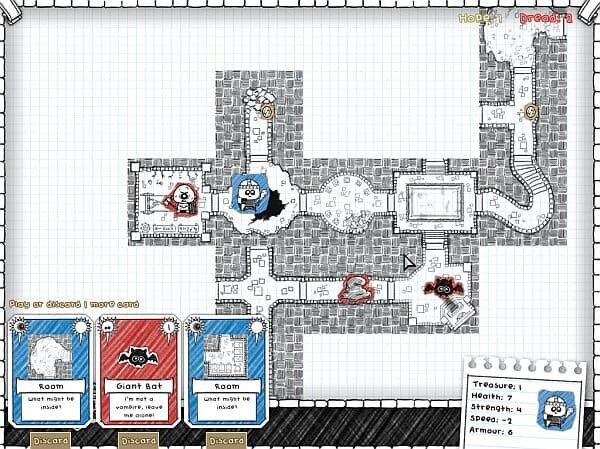Guild of Dungeoneering alpha gameplay screenshot 1