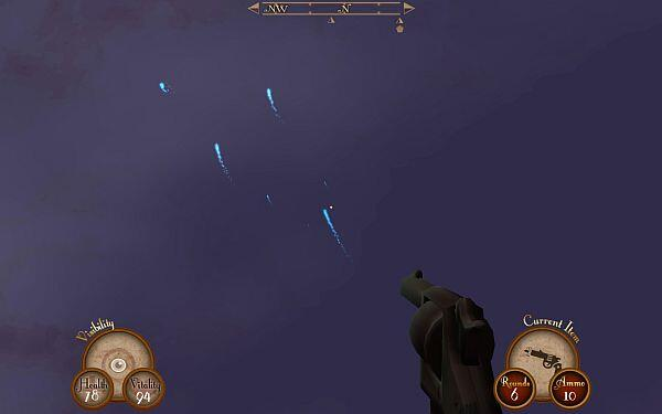 Sir_You_Are_Being_Hunted_screenshot-will-o-wisps_IndieGameReviewer