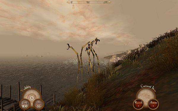 Sir_You_Are_Being_Hunted_screenshot_Mecthulhu_IndieGameReviewer