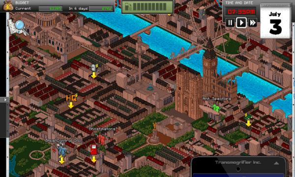 GhostControl screenshot - City