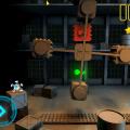 Pentumble screenshot - green key