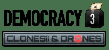 "Democracy 3: Positech Unveils Expansion Pack ""Clones and Drones"""