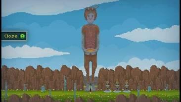 Echo of the Wilds - screenshot - giant statue