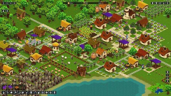 Hearthlands, a bustling little town