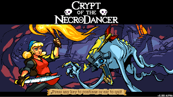 Crypt of the Necrodancer box art