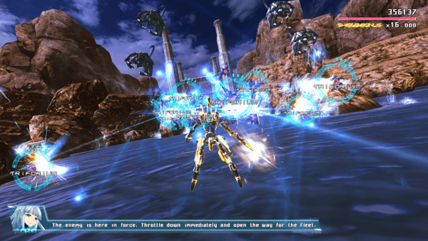 Astebreed screenshot - Lock On