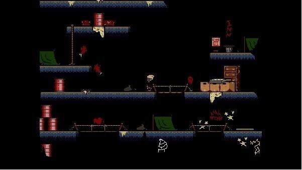 Lisa, exploring a cave camp