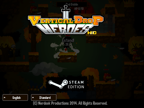 vertical_drop_heroes_hd_title_screen