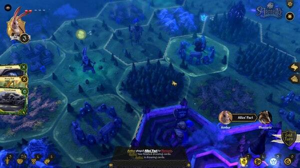 Armello: grid-based board