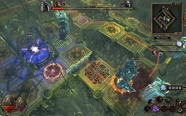 Deathtrap combat screenshot 2