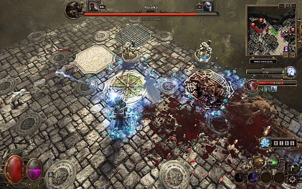 Deathtrap combat screenshot
