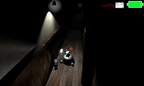 Shutter screenshot - Hallway