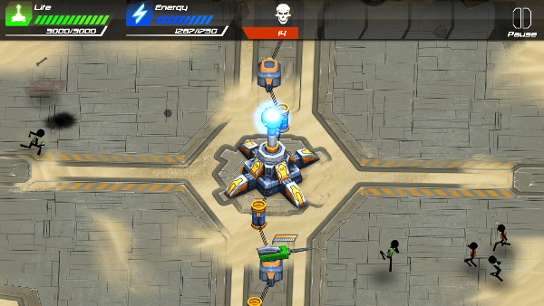 Tesla Wars II screenshot - Desert