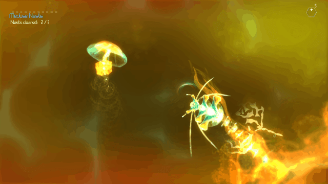 Sparkle 3 screenshot - Orange Void