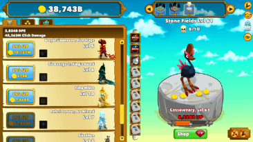 Clicker Heroes Setting 2