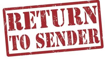 Return-To-Sender