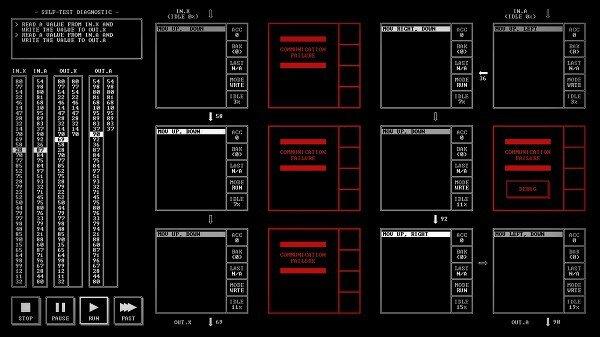 TIS-100: Running a program