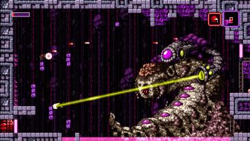 Axiom Verge screenshot - Boss
