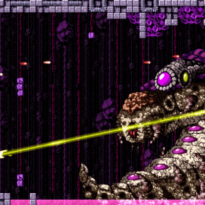 Axiom Verge screenshot - Boss