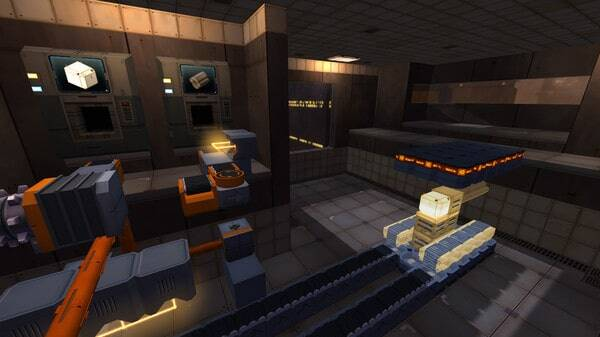 Infinifactory: screenshot courtesy of Steam