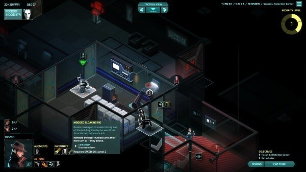Invisible, Inc.: infiltrating a corporate office