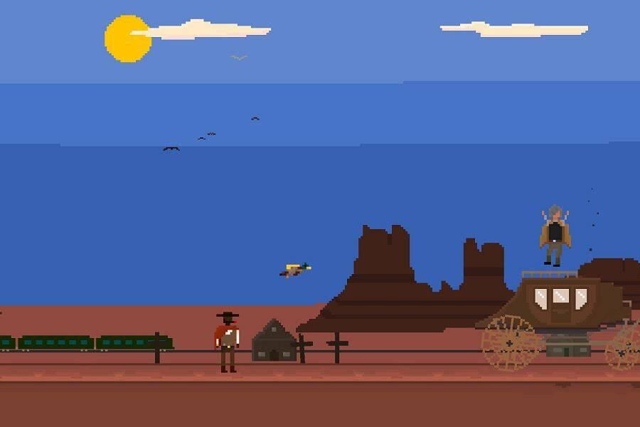 Luckslinger screenshot 1 desert