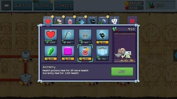 letter quest grimms journey remastered screenshot item shop