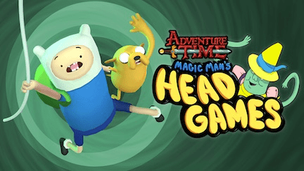 Adventure Time Head Games header
