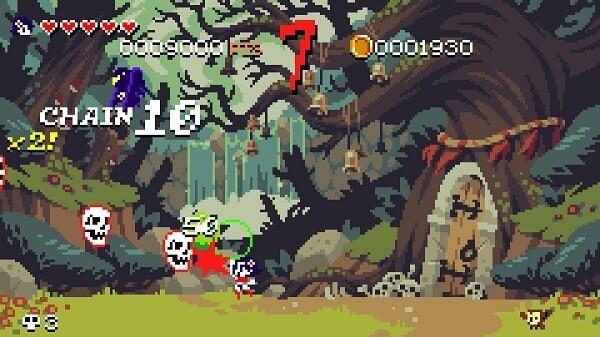 CursesnChaos screenshot skull punch