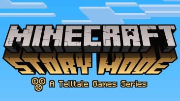 Minecraft: Story Mode logo