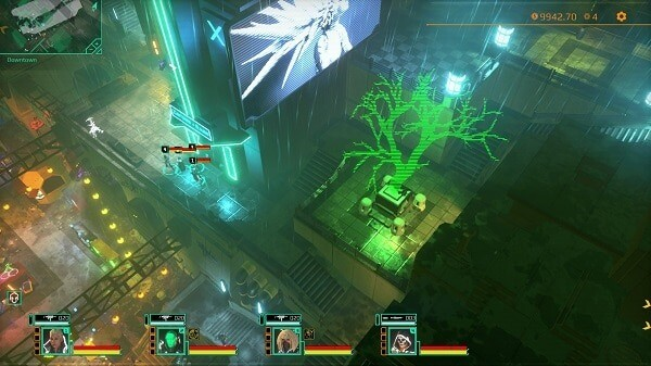 Satellite Reign: navigating the city