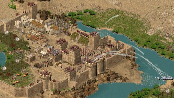 Stronghold Crusader HD: screenshot courtesy of Steam