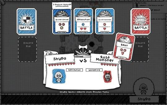 Guild of Dungeoneering: screenshot courtesy of Steam