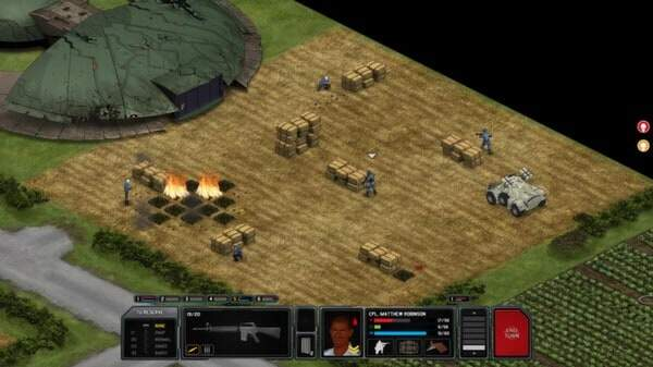 Xenonauts: screenshot courtesy Steam