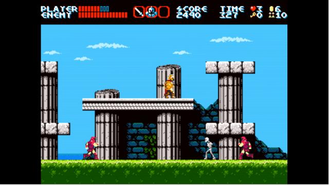 Curse of Issyos game screenshot