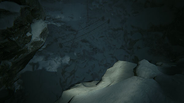 Kholat game screenshot - Don't Look Down