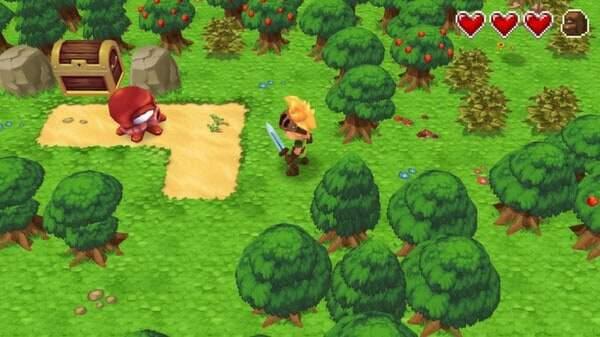 Evoland game screenshot, courtesy Steam