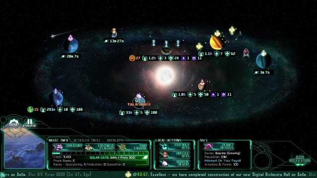 The Last Federation: screenshot courtesy of Steam