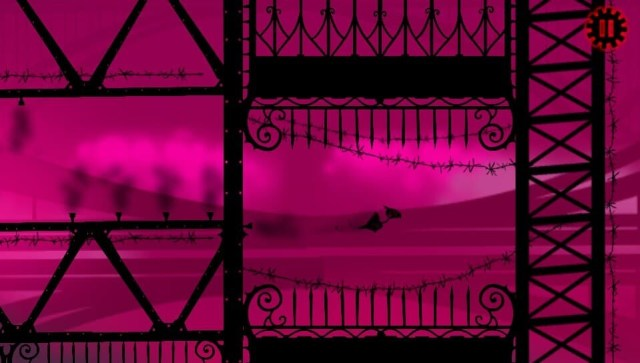 Red Game without a Great Name game screenshot, purple scene