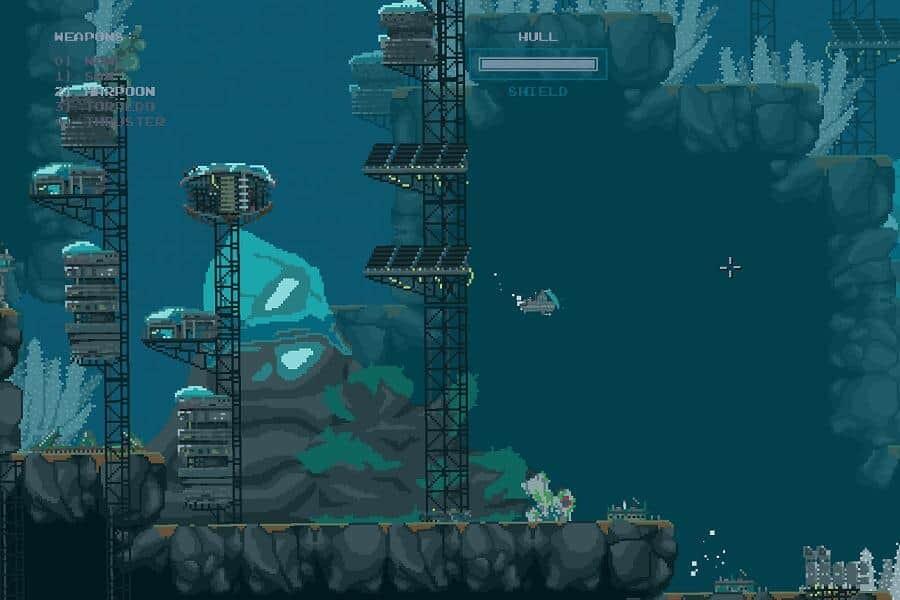 The Aquatic Adventure of the Last Human, game screenshot 1