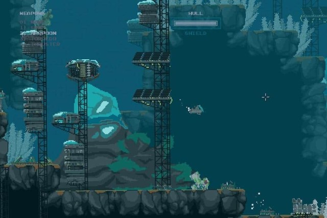 The Aquatic Adventure of the Last Human, game screenshot 1