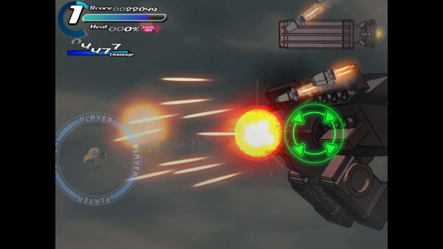 Sora game screenshot, energy weapons