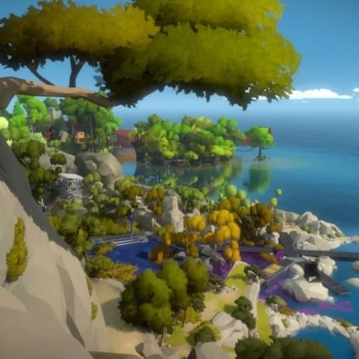the witness screenshot swamp overlook