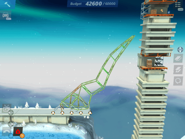 Bridge Constructor Stunts screenshot -  Nope
