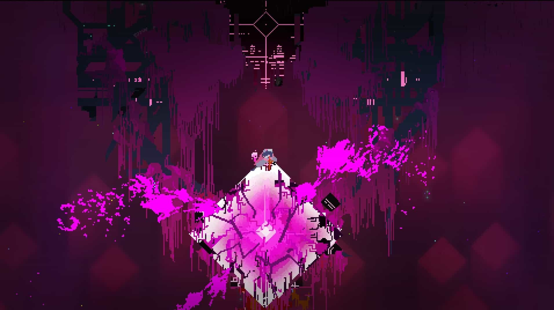 Hyper Light Drifter game screenshot, Final Boss